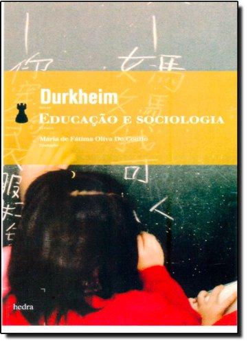 Educação e Sociologia, livro de Émile Durkheim