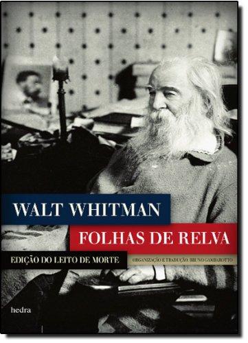 Folhas de relva - Edição do leito de morte, livro de Walt Whitman