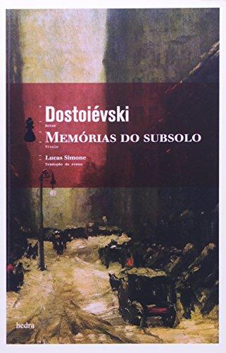 Memórias do subsolo, livro de Fiódor Dostoiévski