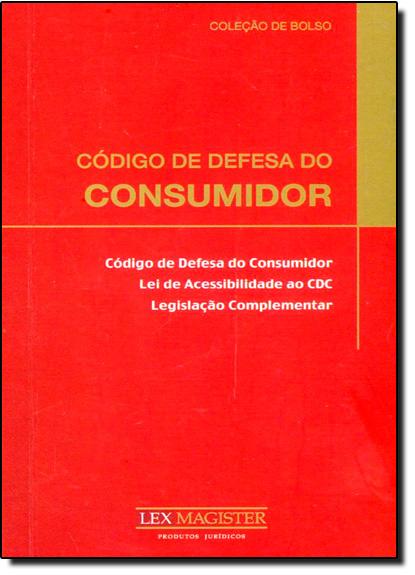 Código de Defesa do Consumidor - Edição de Bolso, livro de Equipe Lex Magister