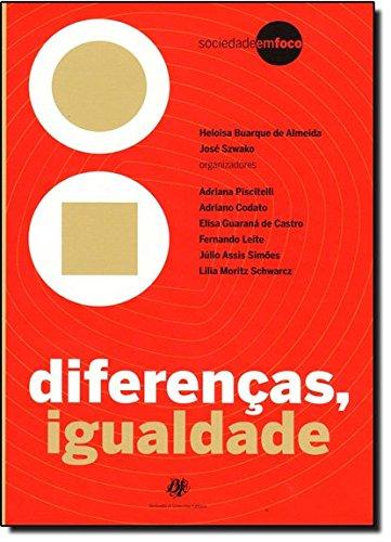Diferenças, Igualdade, livro de Heloisa Buarque de Almeida