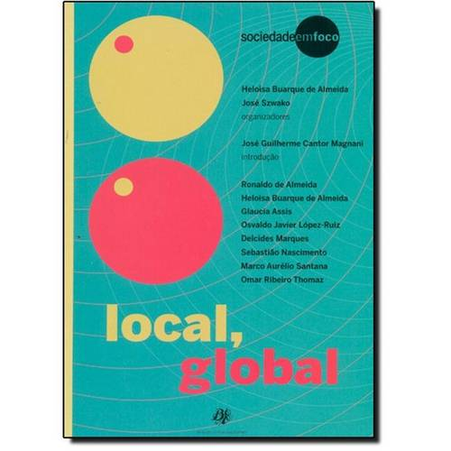 Local, Global, livro de Heloisa Buarque de Almeida