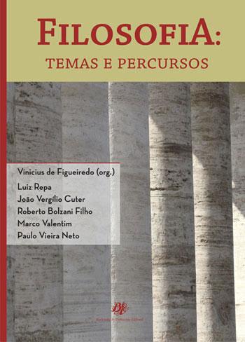 Filosofia - Temas e Percursos, livro de Vinicius de Figueiredo (Org.)