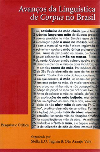 Avanços da linguística de corpus no Brasil, livro de Stella E. O. Tagnin, Oto Araújo Vale (orgs.)