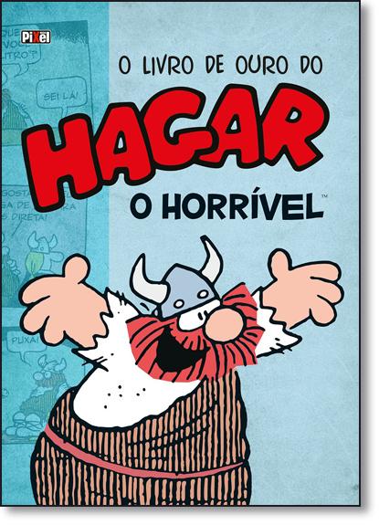Livro de Ouro do Hagar, O: O Horrível - Vol.1, livro de Dik Browne