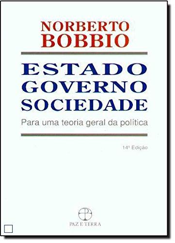 Estado, Governo, Sociedade, livro de Norberto Bobbio