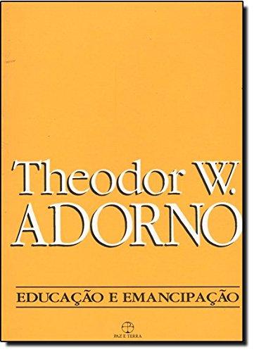 Educação e emancipação, livro de Theodor W. Adorno