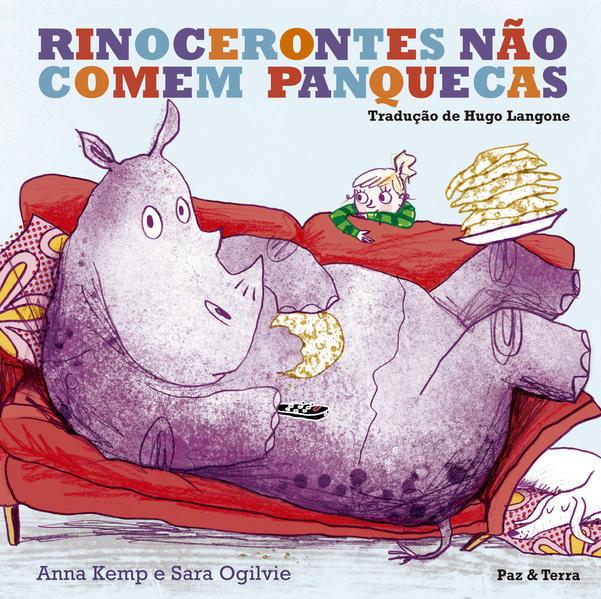 Rinocerontes não Comem Panquecas, livro de Sarah Ogilvie