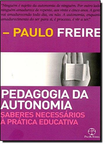 Pedagogia da Autonomia, livro de Paulo Freire