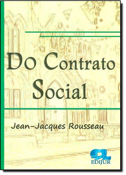 Do Contrato Social, livro de Jean Jacques Rousseau