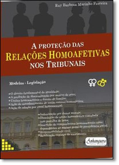 Proteção das Relações Homoafetivas nos Tribunais, A, livro de Ruy Barbosa Marinho Ferreira