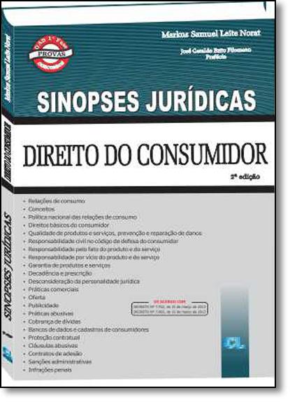 Direito do Consumidor - Coleção Sinopses Jurídicas, livro de Markus Samuel Leite Norat