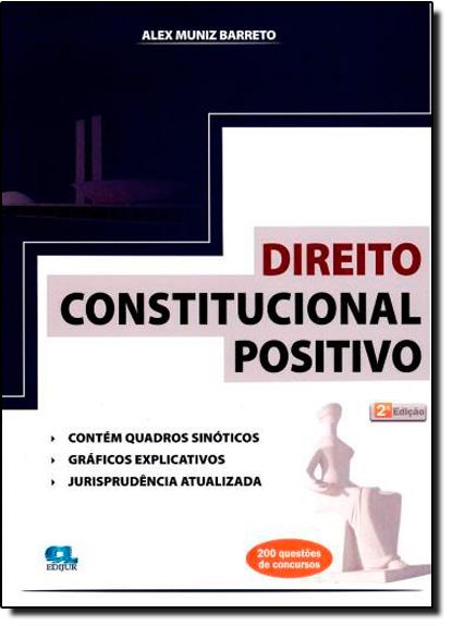 Direito Constitucional Positivo, livro de Alex Muniz Barreto