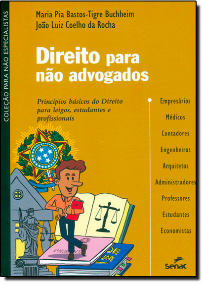 Direito Para Não Advogados, livro de Maria Pia Bastos-Tigre Buchheim