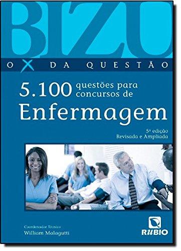 Bizu de Enfermagem, o X da Questão: 5.0 Questões Para Concursos, livro de William Malagutti