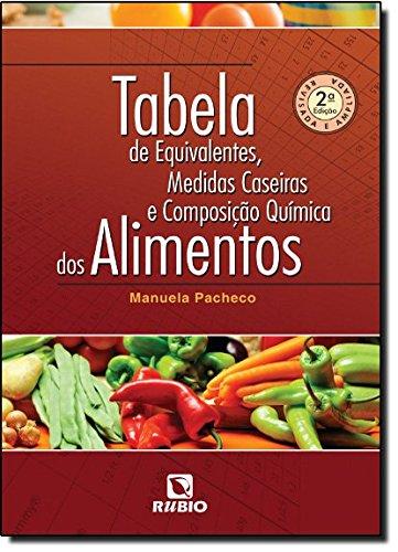 Tabela de Equivalentes, Medidas Caseiras e Composição Química dos Alimentos, livro de Manuela Pacheco