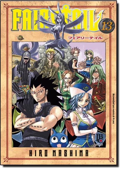 Fairy Tail - Vol.13, livro de Hiro Mashima