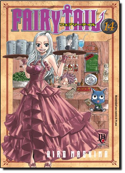 Fairy Tail - Vol.14, livro de Hiro Mashima