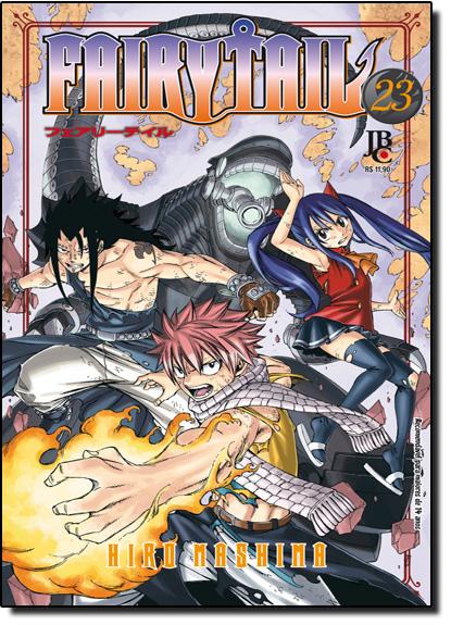 Fairy Tail - Vol.23, livro de Hiro Mashima