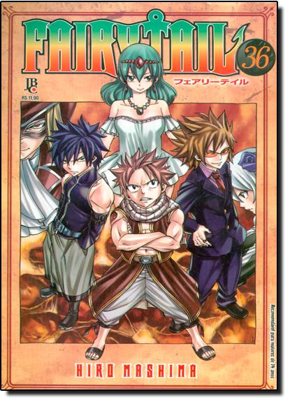 Fairy Tail - Dragão Rei - Vol.36, livro de Hiro Mashima