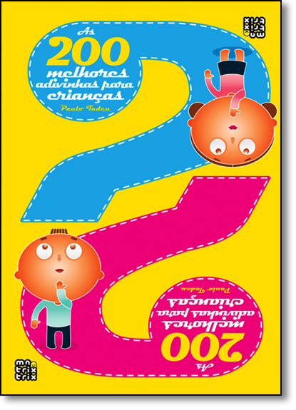 200 Melhores Adivinhas Para Crianças, As, livro de Paulo Tadeu