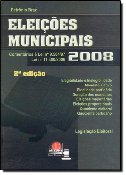 Eleições Municipais, livro de Petrônio Braz