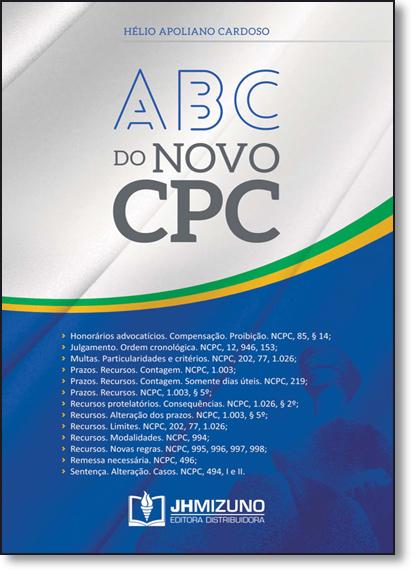 Abc do Novo Cpc, livro de Hélio Apoliano Cardoso