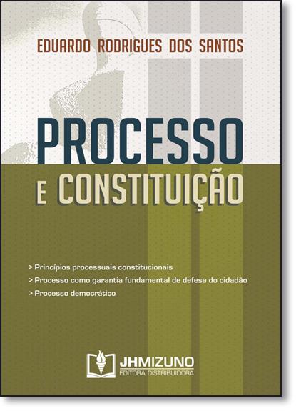 Processo e Constituição, livro de Eduardo Rodrigues dos Santos