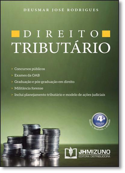 Direito Tributário, livro de Deusmar José Rodrigues