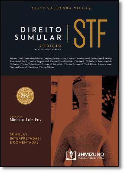Direito Sumular Stf, livro de Alice Saldanha Villar