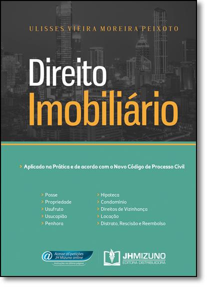 Direito Imobiliário, livro de Ulisses Vieira Moreira Peixoto