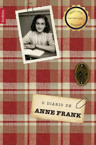 O diário de Anne Frank (edição de bolso), livro de Anne Frank