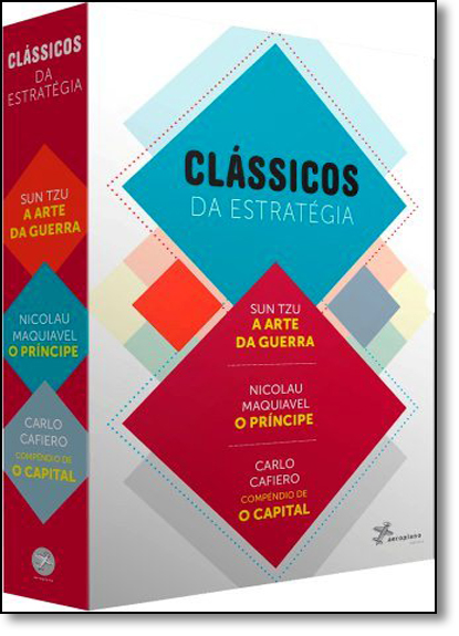 Box Clássicos da Estratégia - 3 Volumes, livro de Editora Aeroplano