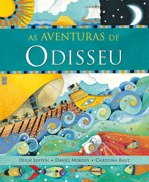 AVENTURAS DE ODISSEU, AS, livro de Hugh Lupton