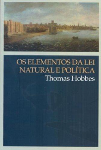 Os elementos da lei natural e política, livro de Thomas Hobbes