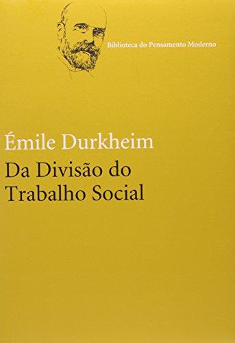 Da divisão do trabalho social, livro de Émile Durkheim