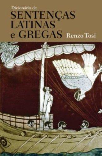 Dicionário de sentenças latinas e gregas, livro de Renzo Tosi