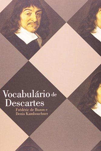 Vocabulário de Descartes, livro de Frédéric de Buzon, Denis Kambouchner