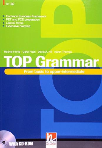 TOP GRAMMAR, livro de FINNIE, RACHEL / FRAIN, CAROL / HILL, DAVID A / THOMAS, KAREN