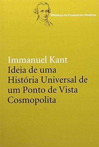 Ideia de uma história universal de um ponto de vista cosmopolita, livro de Immanuel Kant