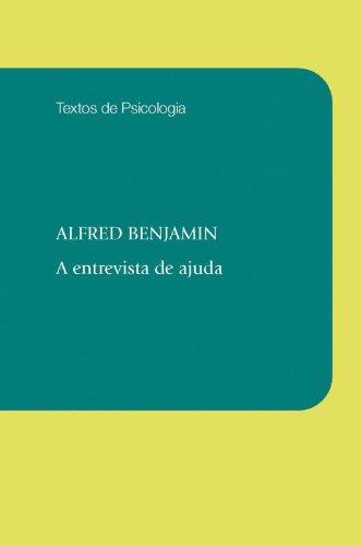 A Entrevista de Ajuda, livro de Alfred Benjamin