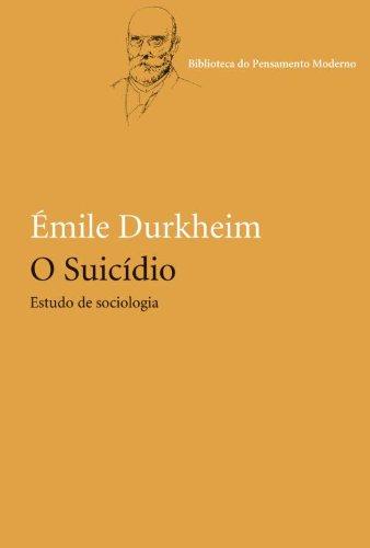 O suicídio, livro de Émile Durkheim