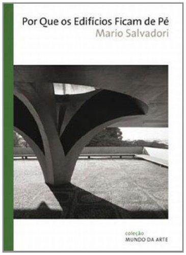 POR QUE OS EDIFICIOS FICAM DE PE, livro de SALVADORI, MARIO