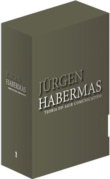 TEORIA DO AGIR COMUNICATIVO CAIXA CONTENDO 2 VOLUMES, livro de Jürgen Habermas
