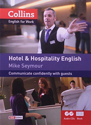HOTEL AND HOSPITALITY ENGLISH - ENGLISH FOR WORK, livro de SEYMOUR, MIKE