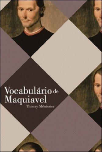 VOCABULARIO DE MAQUIAVEL, livro de MENISSIER, THIERRY