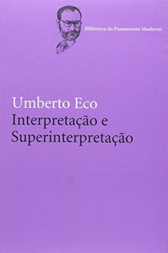 Interpretação e superinterpretação, livro de Umberto Eco