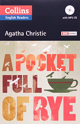 POCKET FULL OF RYE, A - WITH AUDIO CD, livro de CHRISTIE, AGATHA