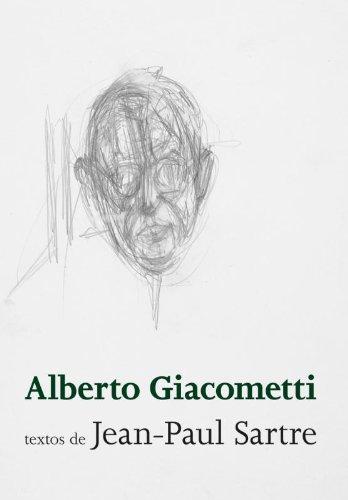 Alberto Giacometti, livro de Jean-Paul Sartre