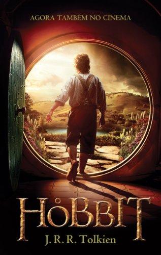 O Hobbit (Capa do Filme), livro de J.R.R. Tolkien